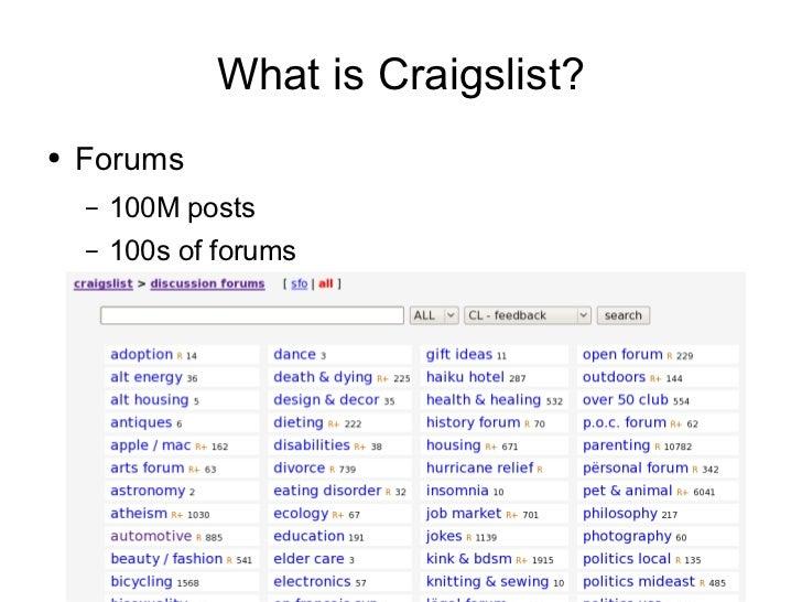 What is Craigslist? <ul><li>Local Classifieds