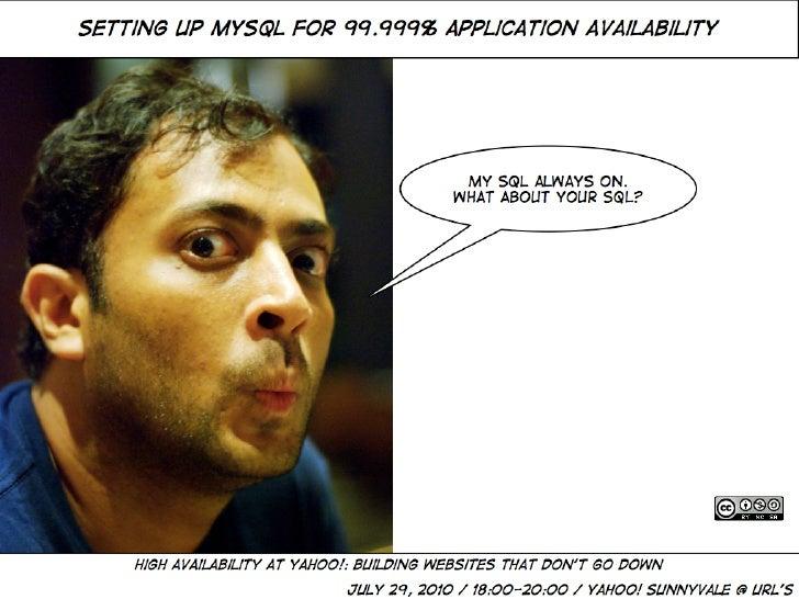 MySQL Business Continuity Planning