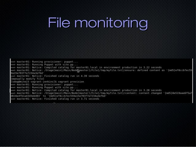 File monitoringFile monitoring