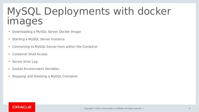 MySQL docker with demo by Ramana Yeruva