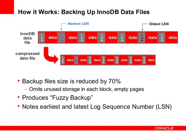 The log sequence number in ibdata files does not match