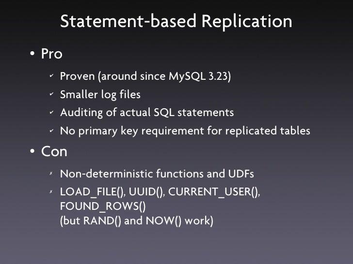 MySQL on DRBD ●   MySQL runs on the Active node as usual ●   MySQL is dormant on the Passive node                         ...