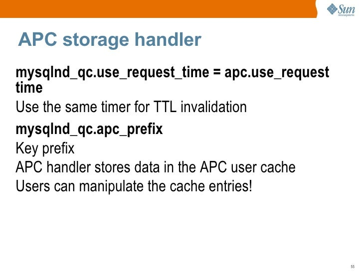 Invalidating query cache entries mysql database