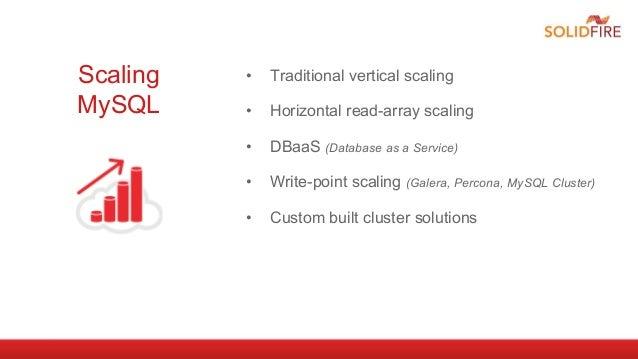 MySQL: Scale Through Consolidation Webinar