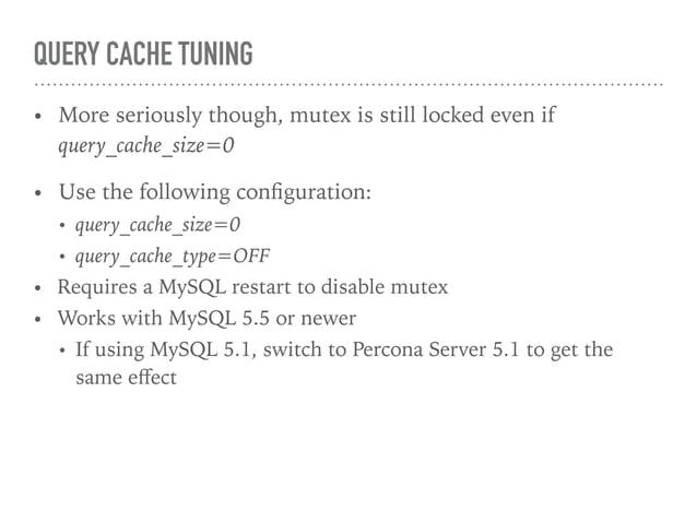 15. INNODB_CHECKSUM_ALGORITHM – THE SECRET HARDWARE ACCELERATION TRICK • Old checksum algorithm is expensive (CPU overhead...
