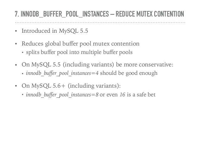 Mysql Performance Tuning Part 1 Mysql Configuration