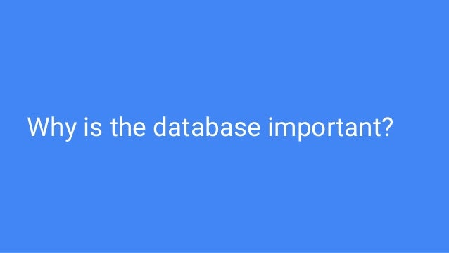 MySQL Query Optimisation 101 Slide 3