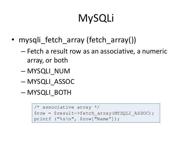 mysqli_fetch_array