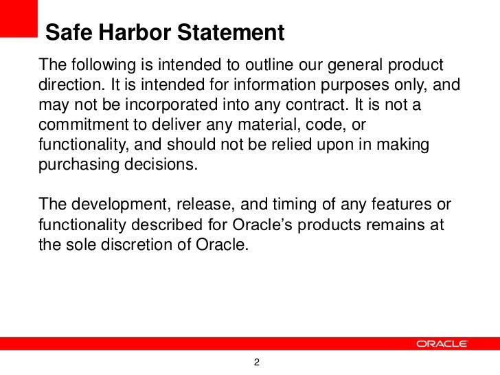 Playing in the Same Sandbox:  MySQL and Oracle Slide 2