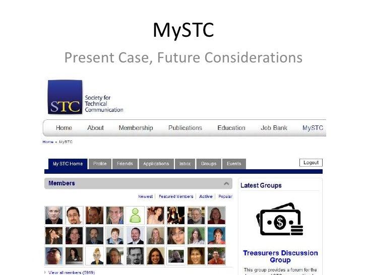 MySTCPresent Case, Future Considerations