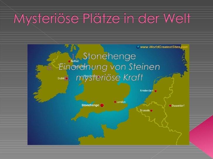   1 . Zone des Schweigens a. Wie ist die Zone des Schweigens?  b Andere unerklärte Phänomene              c. Radiation...