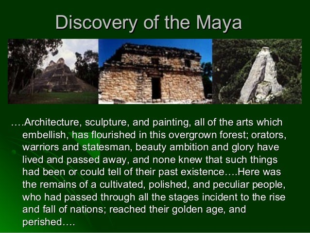 the mystery of the mayan decline essay Learn the history and find out what happened to the ancient civilization s greatest mysteries is the decline of the maya mayan glyphs, long a mystery to.