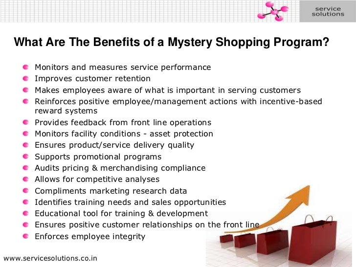 Mystery Shopping By Service Solutions