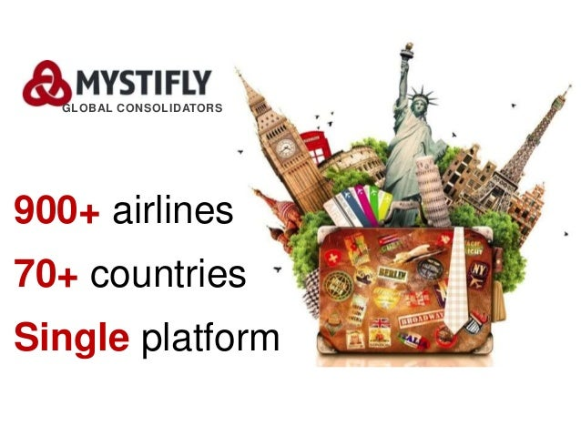 900+ airlines 70+ countries Single platform GLOBAL CONSOLIDATORS
