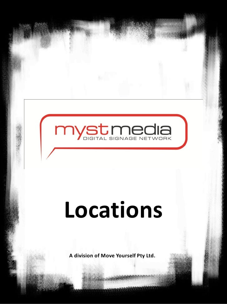 LocationsA division of Move Yourself Pty Ltd.