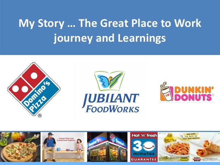 My Story … The Great Place to Work      journey and Learnings