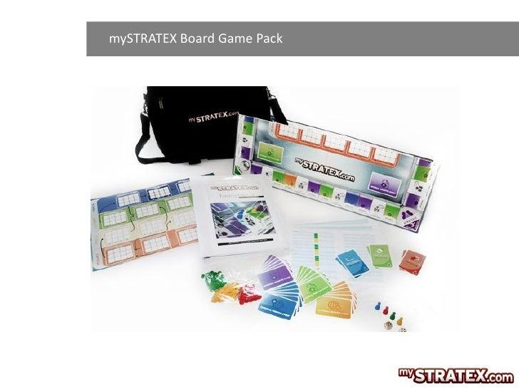 mySTRATEX Board Game Pack