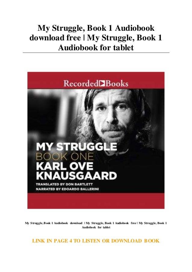 Book One My Struggle