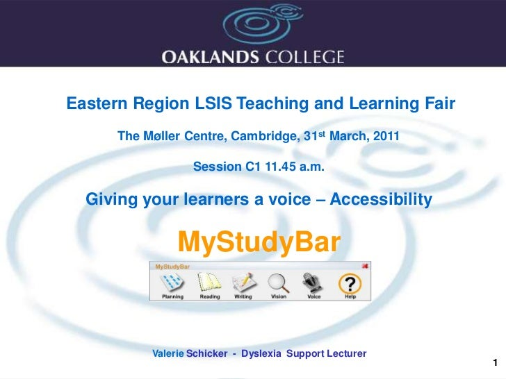 1<br />Eastern Region LSIS Teaching and Learning Fair<br />The Møller Centre, Cambridge, 31st March, 2011 <br />Session C1...