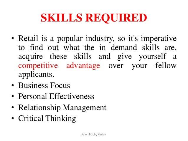 29 - Good Retail Skills