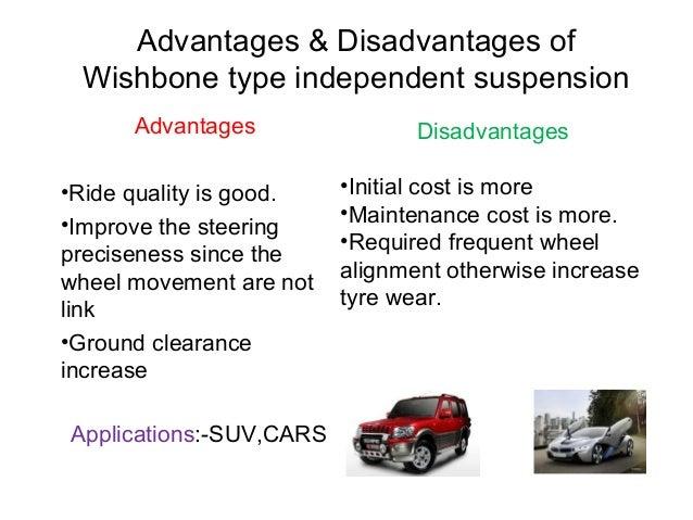 advantages and disadvantages of automobiles
