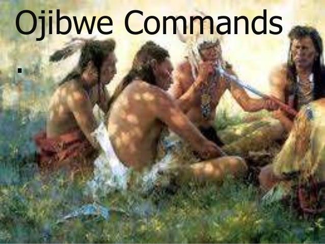 Ojibwe Commands .