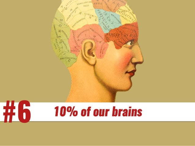 #6 10% of our brains