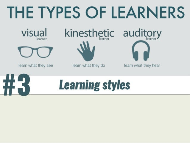 #3 Learning styles