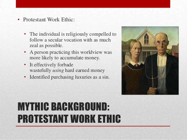 what was the protestant work ethic philosophy essay Max weber's the protestant ethic and the spirit of capitalism - max weber's work the protestant ethic and the spirit of capitalism is arguably one of the most important works in all of sociology and social theory, both classical and modern.