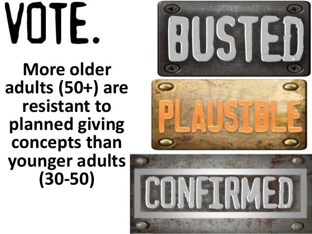 Older adults are initially more resistant to  bequest giving but more responsive to  bequest marketing