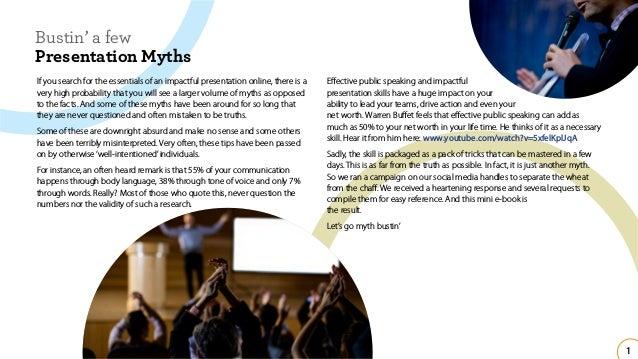 Busting Some Presentation Myths Slide 2