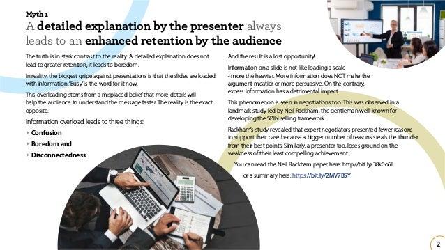 Busting Some Presentation Myths Slide 3