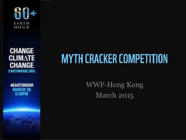 WWF-Hong Kong March 2015