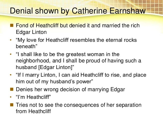 a presentation of the personalities of catherine and heathcliff in wuthering heights by emily bronte A summary of themes in emily brontë's wuthering heights learn exactly what happened in this chapter, scene, or section of wuthering heights and what it means perfect for acing essays, tests, and quizzes, as well as for writing lesson plans  catherine and heathcliff's passion for one another seems to be the center of wuthering heights,.