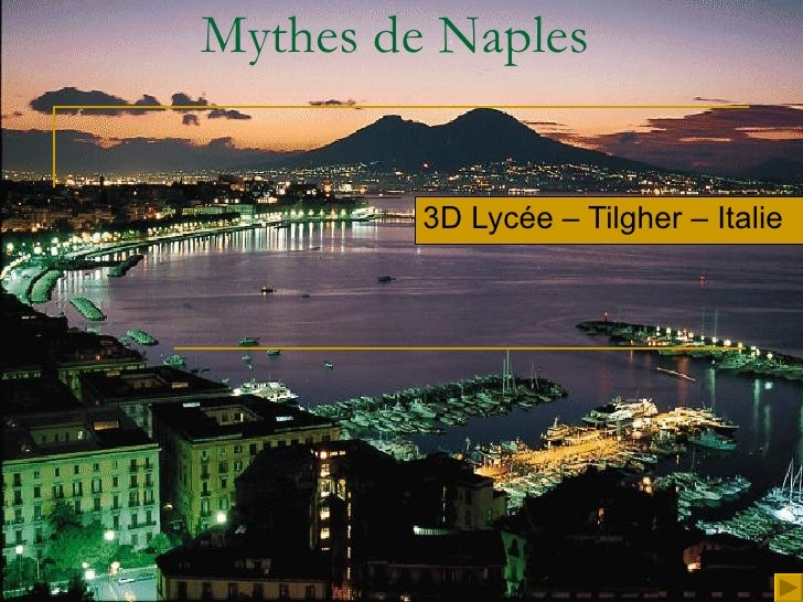 Mythes de Naples 3D Lycée – Tilgher – Italie