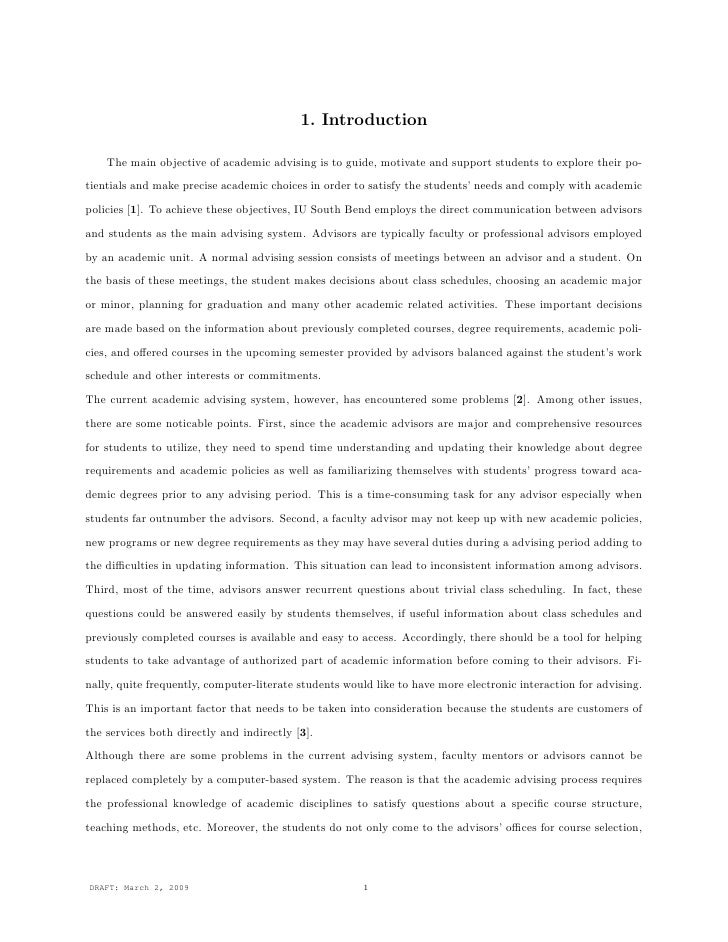 Phd thesis foreword