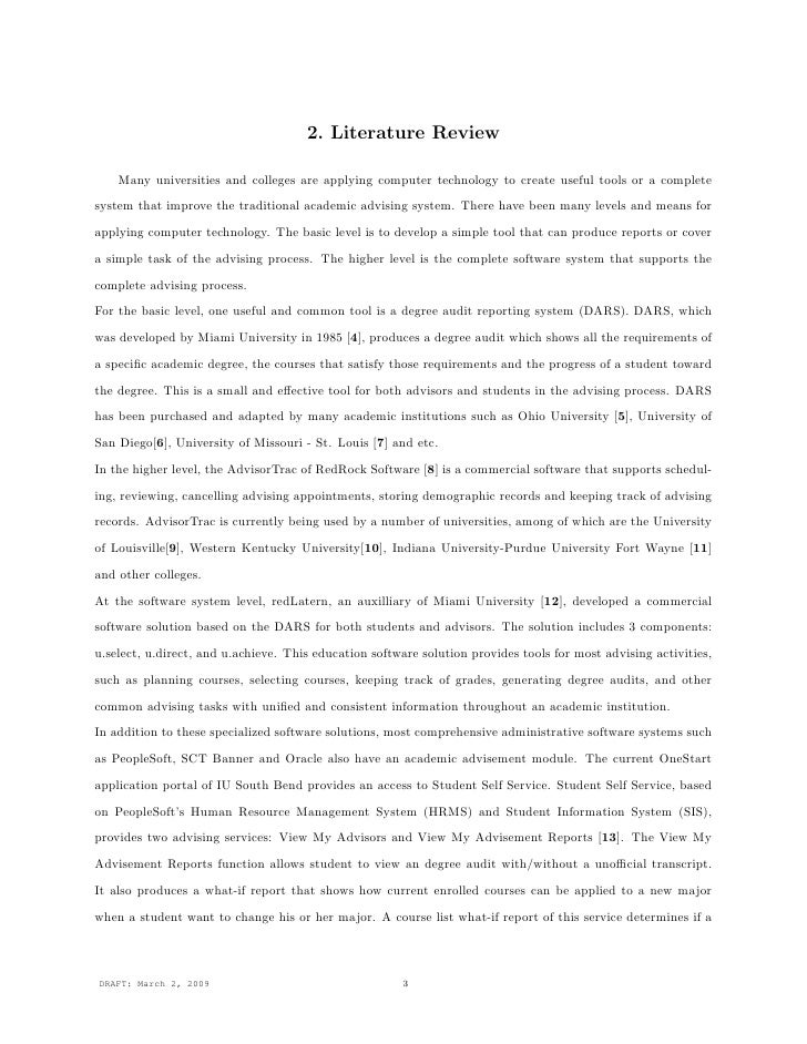 system proposal for it thesis