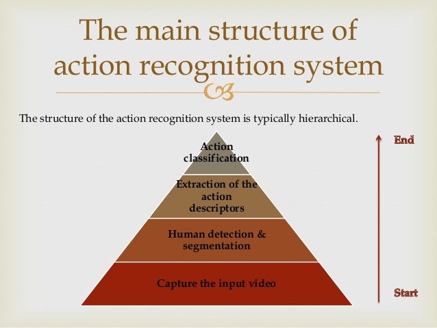 The main structure of action recognition system    The structure of the action recognition system is typically hierarchic...