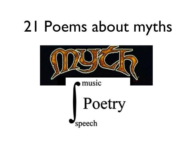 myth of music poem