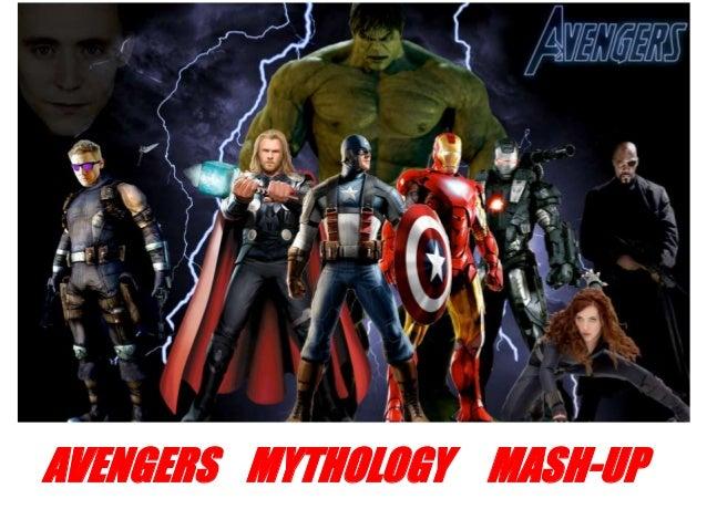 AVENGERS MYTHOLOGY MASH-UP