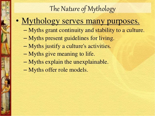 living myths how myth gives meaning to human experience