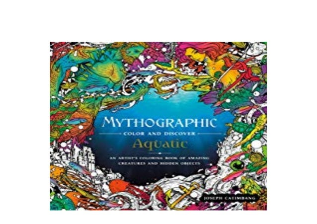 Ebook Audiobook Library Mythographic Color And Discover Aquatic An Ar