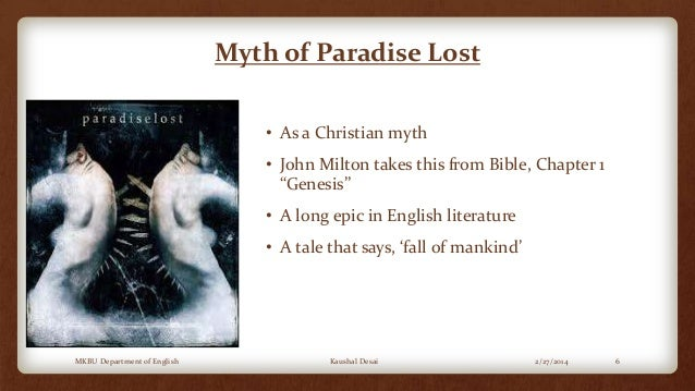 the culprit for the fall of man in the novel paradise lost by john milton The einstein intersection analysis samuel r delany  the surface story of this novel is a reliving of the greek myth of orpheus and  paradise lost john milton.