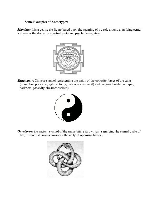 Examples Of Archetypal Symbols Gallery Meaning Of This Symbol