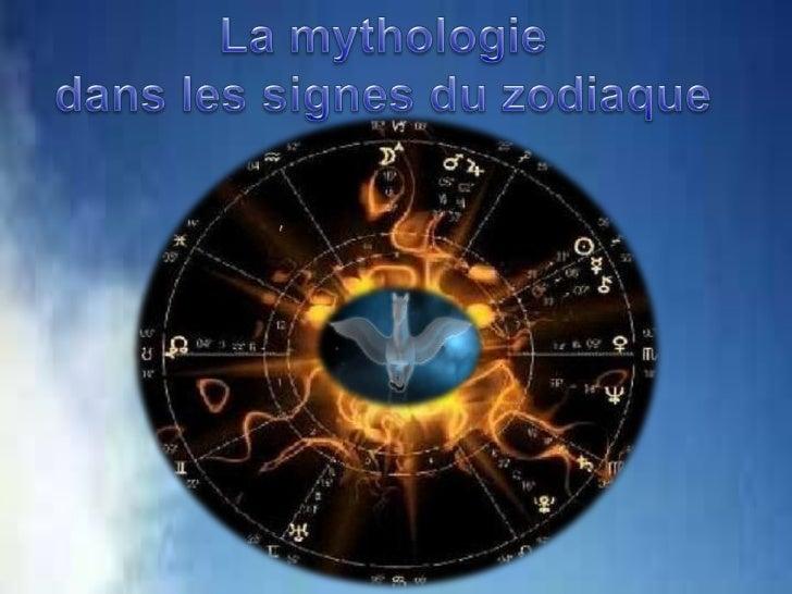 La mythologiedanslessignesduzodiaque<br />
