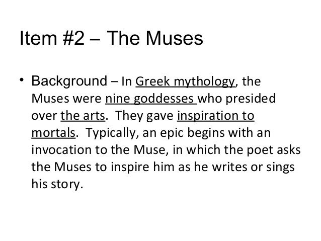poems with mythological allusions