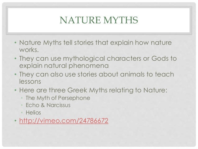 cultural myth examples