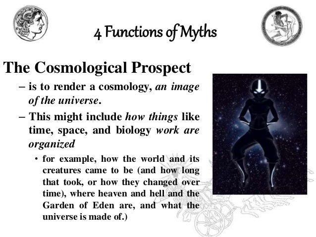 what are the functions of myths