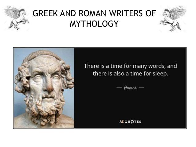 Introduction to Greek mythology: Authors, gods, & goddesses