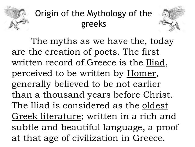 an introduction to the literary analysis of the heroes in the greek mythology What is greek mythology • the people of ancient greece shared stories called myths about the gods, goddesses, and heroes in which they believed • each god or goddess was worshipped as a deity and.